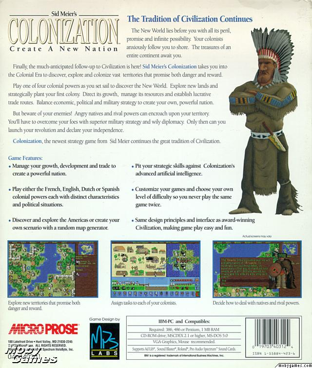 Colonization Game Cover