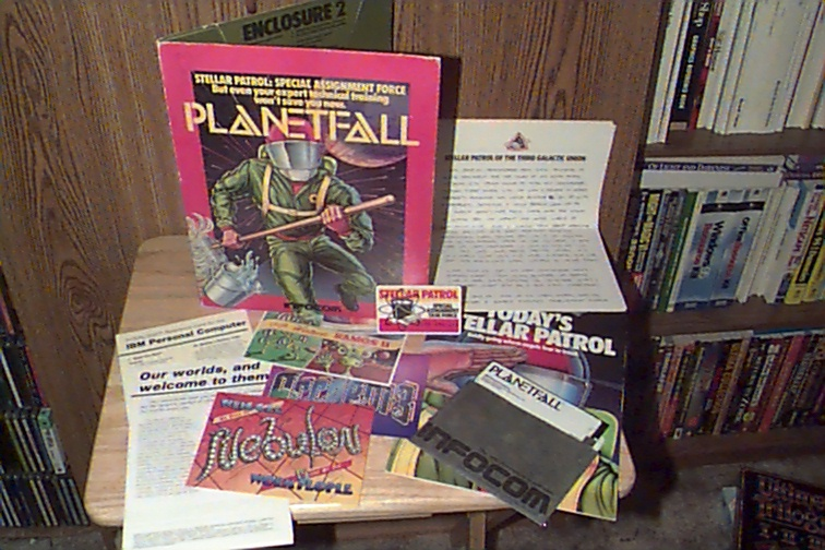 Planetfall Game Package