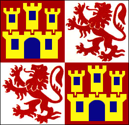 Spanish Lions and Castles Flag